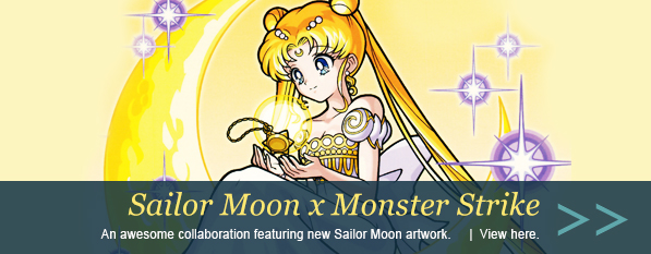 Sailor Moon Monster Strike Postcards