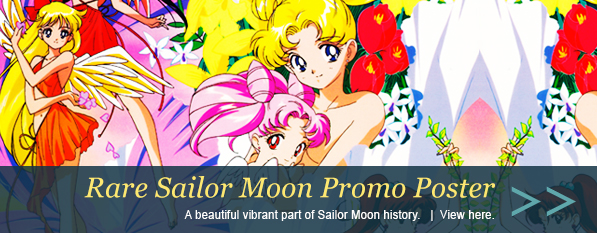 Sailor Moon SuperS Official Toei Video Promo Poster